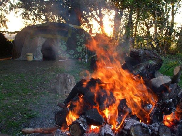Freie Trauung NRW - Schwitzhütten-Ritual