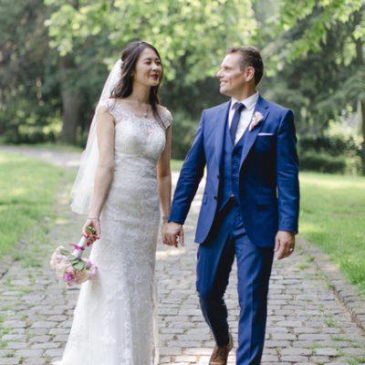 Brautpaar einer freie Trauung von Natalie Sahm